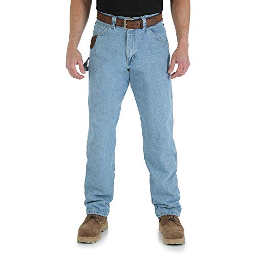 Wrangler Riggs Workwear Men's Carpenter Jean,Vintage Indigo,30X32