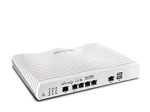 DrayTek Vigor 2862 Triple-WAN Wired Router for ADSL, VDSL and...