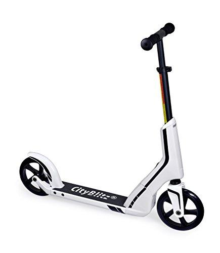 City Flash Unisex Speed Kick Scooter, Unisex, Speed, Weiß, 0