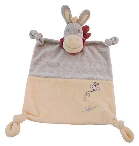 Bieco Donkey Darling Doudou Multicolore 39 x 33 x 9 cm