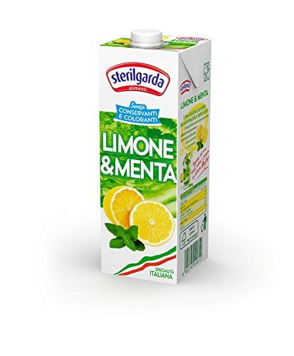 Sterilgarda Bevanda Limone e Menta - Pacco da 10 x 1000 ml