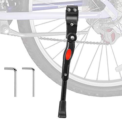 Cavalletto Bici, Cavalletto Regolabile per Bici 24-29' per 22-27 Pollici Mountain Bike, Bici da Strada, Biciclette, Pieghevole Bicicletta