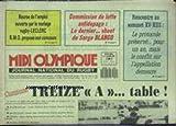 MIDI OLYMPIQUE [No 3849] du 26/10/1987 - BOURSE DE L'EMPLOI - RUGBY - LECLERC - LUTTE ANTIDOAGE - SERGE BLANCO - RENCONTRE AU SOMMET XV - XIII.