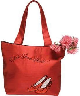 Wizard of Oz Ruby Slippers Silk Tote