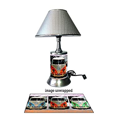 JS Volkswagen Old Vans Lamp with chrome shade
