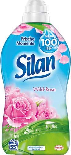 Silan Frische Momente Wild-Rose, Weichspüler-Konzentrat - 4X 55 Waschgänge