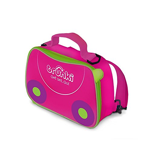 Trunki - Mochila para almuerzo y excursion, color rosa