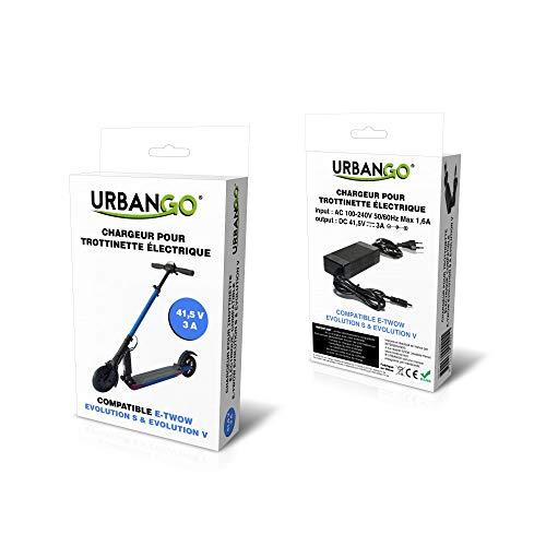 E-Twow - Cargador Etwow Booster V Urbango, Color Negro