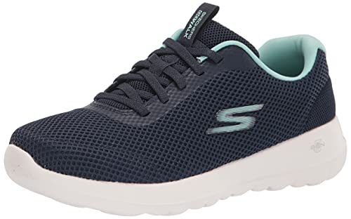 Skechers GO Walk Joy Light Motion, Zapatillas para Correr de Carretera Mujer, Blue, 36 EU