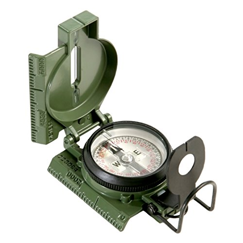 Cammenga 3HCS Official US Miltary Lensatic Compass Tritium, Clam Pack