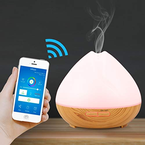 Best Buy! Air Purifiers for Home 400ml Smart Wi-Fi Ultrasonic Aroma Diffuser Cool Mist Humidifier AP...