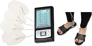 HealthmateForever 10 modos personales electroterapia potente dispositivo pies alivio del dolor aliviar talón dolor pies alivio negro