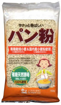 創健社『有機栽培小麦&国内産小麦粉使用 パン粉』