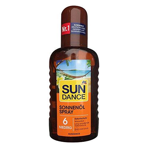 Sundance Sonnenöl Spray LSF6 (200ml Flasche)