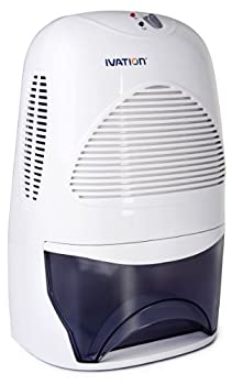 Ivation IVADM35 Powerful Mid-Size Thermo-Electric Dehumidifier - Quietly Gathers Up To 20 Ounces of Water Per Day - for Bath Room Basement Attic Boats Rv Ect - for Spaces Up To 2,200 Cubic Feet  Certified Refurbished