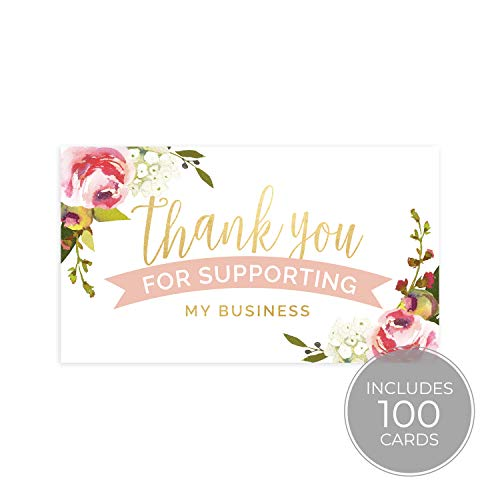 Thank You for Your Business Card (Business Card Sized)