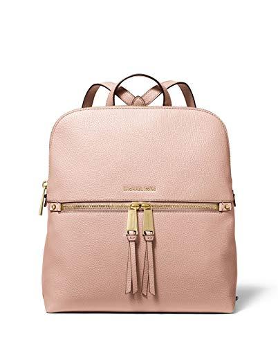 Michael Kors Rhea Medium Slim Backpack (soft pink)