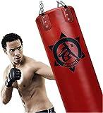 GYPPG Saco de Boxeo Saco de Boxeo Pesado SIN LLENAR Set Kick MMA Training Punching Cadena Colgante Muay Thai Artes Marciales Fitness Entrenamiento Gimnasio en casa para Hombres Mujeres N