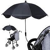 Zoom IMG-1 ombrello regolabile passeggino tettuccio parasole