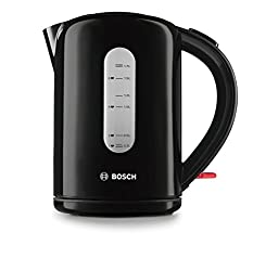 Modern rounded design with simple button operated flip-top lid Generous 1.7L capacity plus 0.3L minimum fill to save water and energy. Rapid boil 3000W concealed element for faster performance. Simple 360 degree base for right- or left-handed use. Ke...