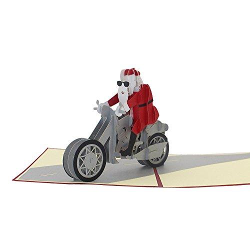 3D Karte Weihnachtskarte Pop Up Festival GrußKarte Weihnachtsdekoration Karte Stereoskopisch Postkarte Hochzeit Party Geburtstagsfeier Einladungskarte Geburtstagskarte Card