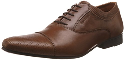 Red Tape Men's Tan Leather Formal Shoes - 11 UK/India (45 EU) (RTS9653)
