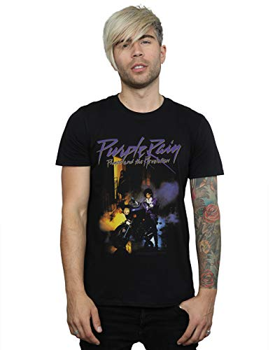 Men's Prince and the Revolution Purple Rain T-shirt by Absolute Cult