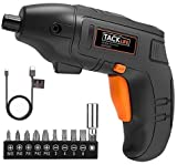 Electric Screwdriver, TACKLIFE Cordless Screwdriver with Front LED Light, Rechargeable 1500 mAh Li-ion Battery...