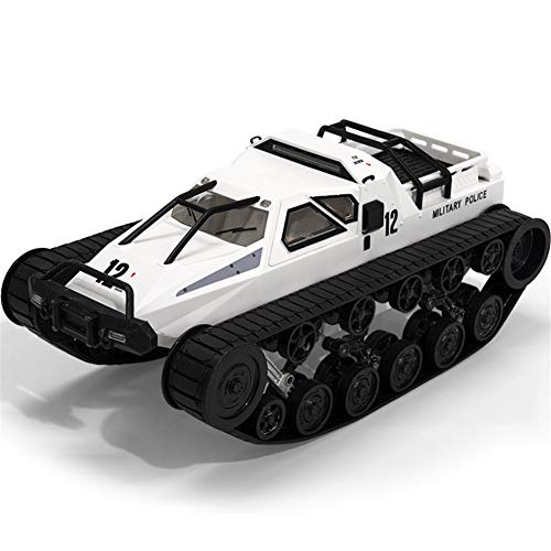 Amyove Ferngesteuerter Panzer Tank, SG 1203 1/12 2.4G Drift RC Auto Hochgeschwindigkeits Proportionalsteuerung Fahrzeugmodell Grau