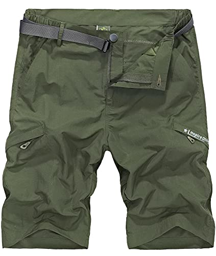 Vcansion Men's Outdoor Lightweight Hiking Shorts Only $13.34 (Retail $26.69)