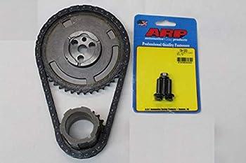 Michigan Motorsports Timing Chain Set with Cam Sprocket ARP Cam Bolts Crank Gear Timing Chain Fits 4.8 5.3 5.7 6.0 LS1 LS2 LS3 LS6 L99 LS4 LS9 LSA LQ4