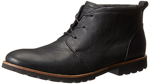 Rockport Mens Charson Lace-Up Boot,Black,11 M US