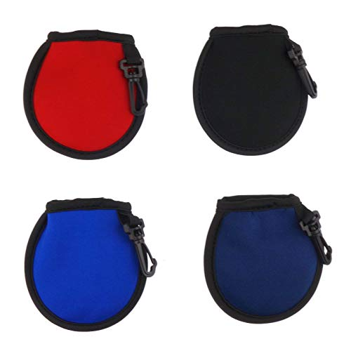 Zelerdo 4 Pack Portable Pocket Golf Ball Washer Golf Ball Cleaner...