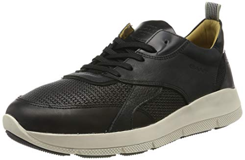 GANT Footwear Herren Delaware Sneaker, Schwarz (Black G00), 42 EU