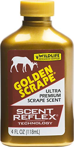 Wildlife Research Golden Scrape Scent, (4-Ounce), Brown (242-4)