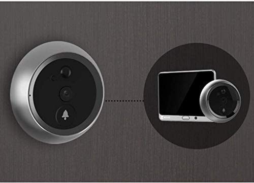 CHUTD Security Camera, Intelligente elektronische kat oog camera visuele deurbel anti-diefstal thuis deur spiegel - 32GB