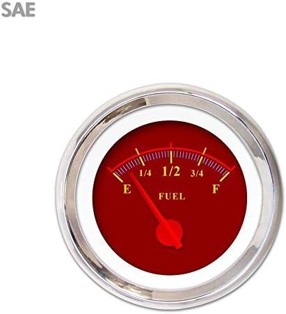 Aurora Las Vegas Mall Instruments GAR142ZEXKABCE Omega Outlet SALE Red Fuel Level Gauge
