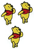 Shops365.de Winnie The Pooh Sew-On Patch, Pack of 3 Appliqué Patches, Pooh Bear Teddy Iron-On Patches / Appliqué / iron-on / iron-on / iron-on / iron-on / iron-on / iron-on / iron-on