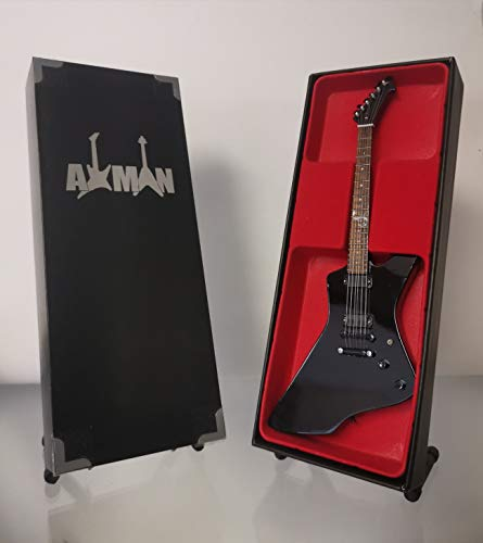 James Hetfield (Metallica): ESP Black Snakebyte Miniatur-Gitarrennachbildung (Verkäufer aus Großbritannien)