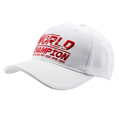 MBA-SPORT Michael Schumacher Cap World Champion weiß