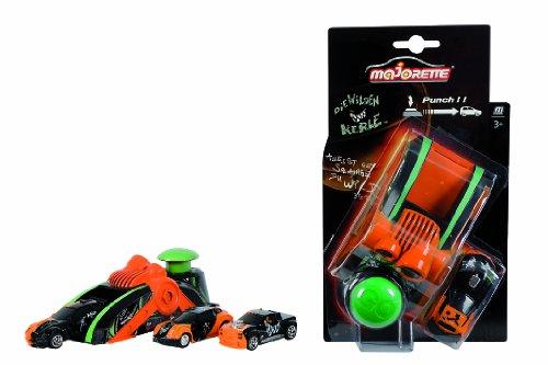 Dickie Toys Majorette 212057231 – Lanceur de Wilde Kerle et Car de 4 Assortis, échelle 1 : 64, 16,5 cm