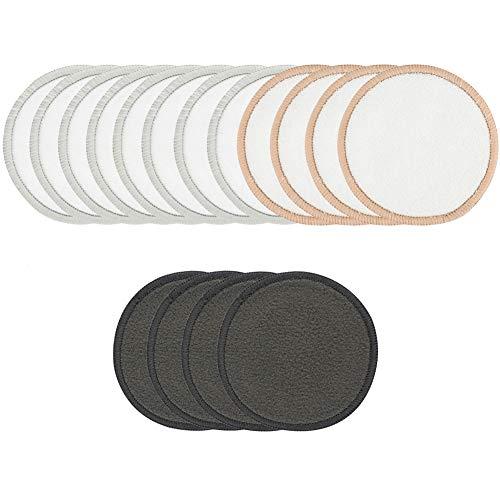 Desmaquillador Pads Reutilizables De Algodón De Bambú Toallas Sanitarias Removedor De Maquillaje Esponja Toallitas De Limpieza Facial Para El Maquillaje De Belleza