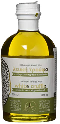 Natural History Museum of Meteora & Mushroοm Museum Extra Natives Olivenöl mit weißem Trüffel Aroma, 250 ml