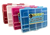 Crafter's Square Craft Storage Boxes Plastic Storage Case, Pack of (4)
