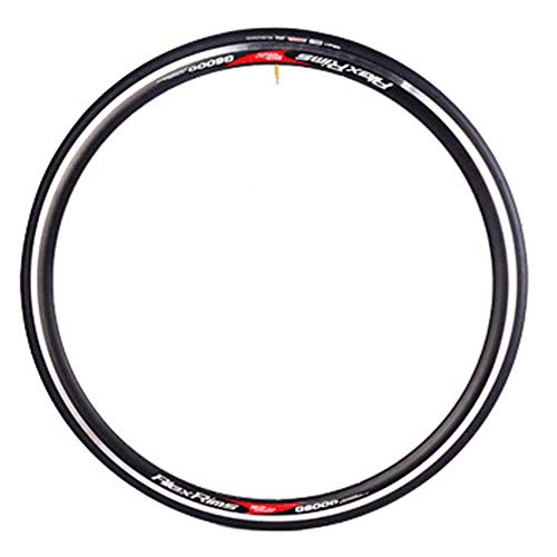 XIONGGG Road Bike Replacement Tire, 700X23c, 60TPI Bicycle Wheel Out Tire, Non-Slip Anti-Puncture Resistant Bicycle Tire
