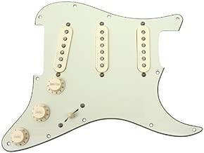 Fender Jeff Beck Hot Noiseless Loaded Pickguard Mint Green / Aged White
