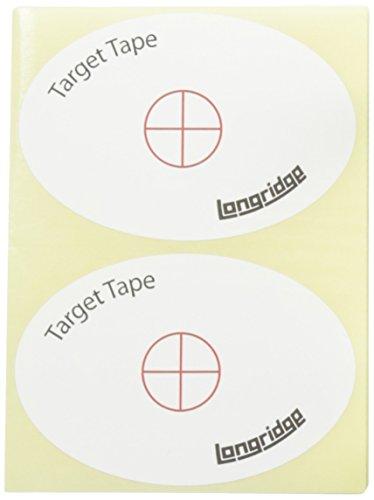 Longridge Golf Zubehör Target Tape 50 Sticker, Mehrfarben