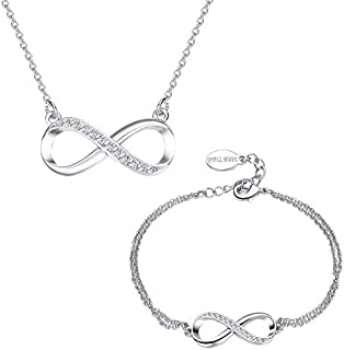 Mestige Infinitely Yours Necklace and Bracelet Set - 2 Pieces