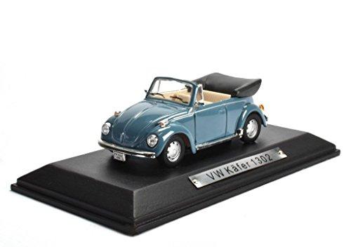Volkswagen VW Käfer 1302 blau 1:43 Atlas DieCast metall Modellauto neu und box