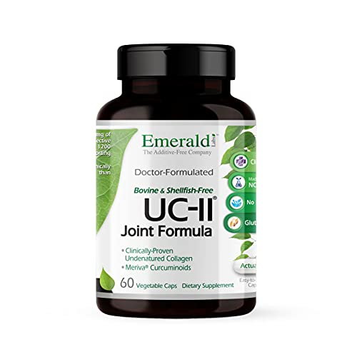 Emerald Labs UC-II Joint Formula with Meriva Phytosome and Bioperine...